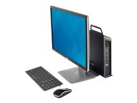 Dell OptiPlex Micro All in One Mount - Boîtier de micro PC - pour OptiPlex 3020 (micro), 3020 Micro, 9020 (micro), 9020 Micro 492-BBRS
