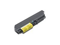 Lenovo - Batterie de portable ( Enhanced ) - 1 x Lithium Ion 6 éléments 5200 mAh - pour ThinkPad R400; R61 7732, 7733, 7734, 7735, 7736; T400; T61 1959, 6377, 6378, 6379, 6480 41U3198
